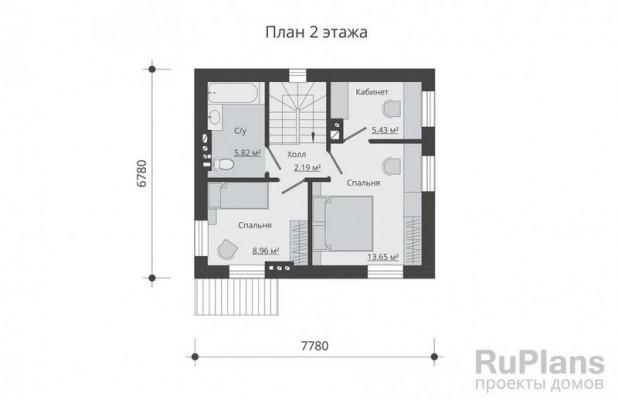 Дом 7,78 x 6,78